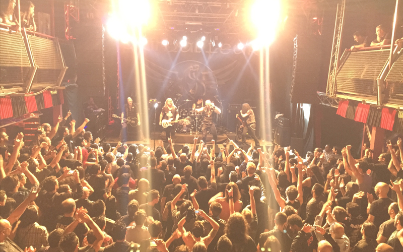 audio engineering recent work bands primal fear curitiba