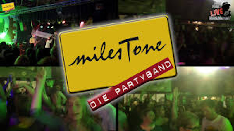 Audioengineering Cover Bands milesTone Partyband Logo