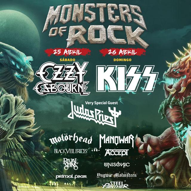 Audioengineering Festivals Monsters of Rock Festival Logo