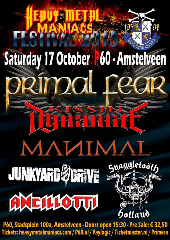 audio engineering recent work festivals heavy metal maniacs festival