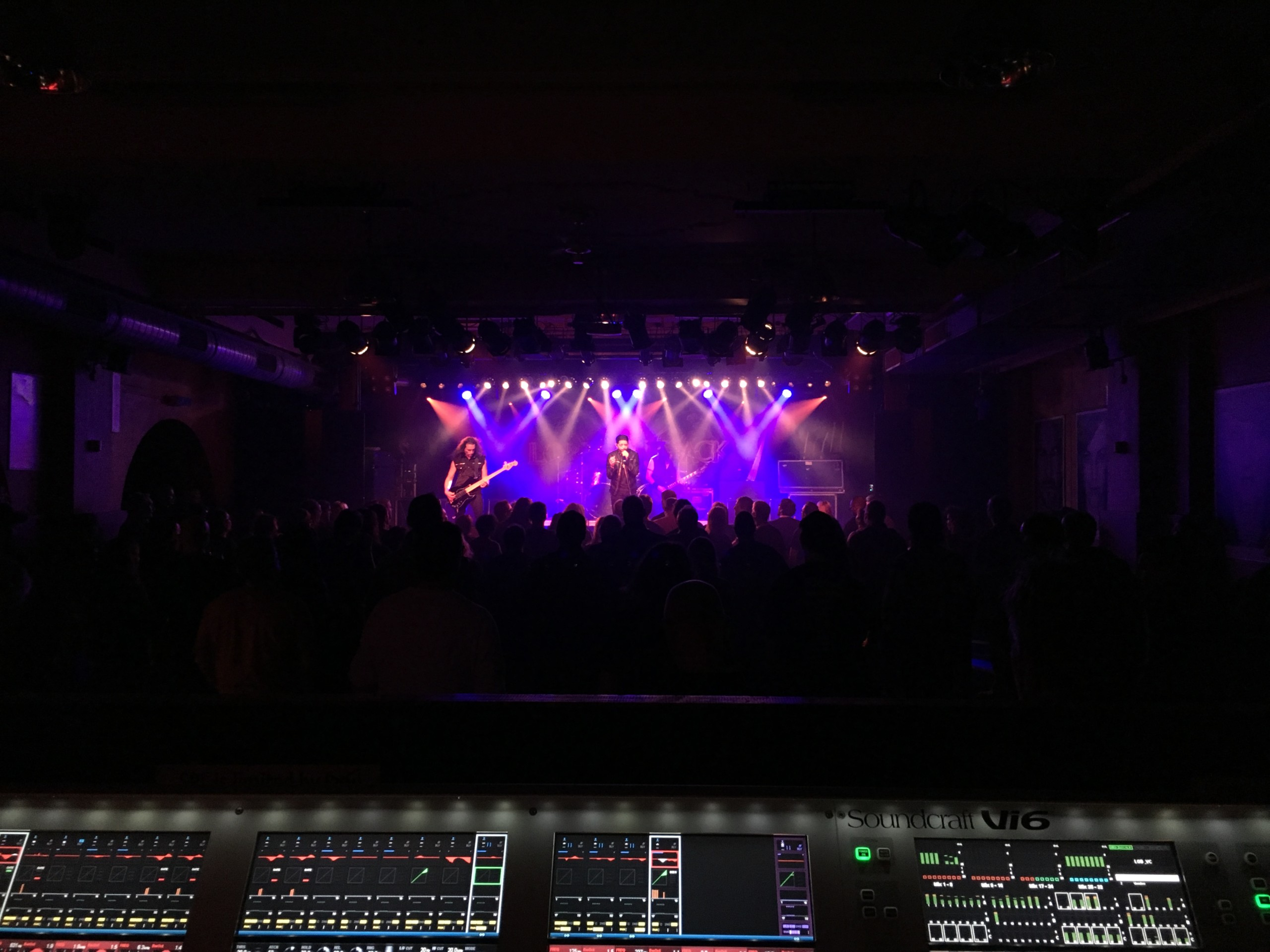 audio engineering recent work bands lords of black foh
