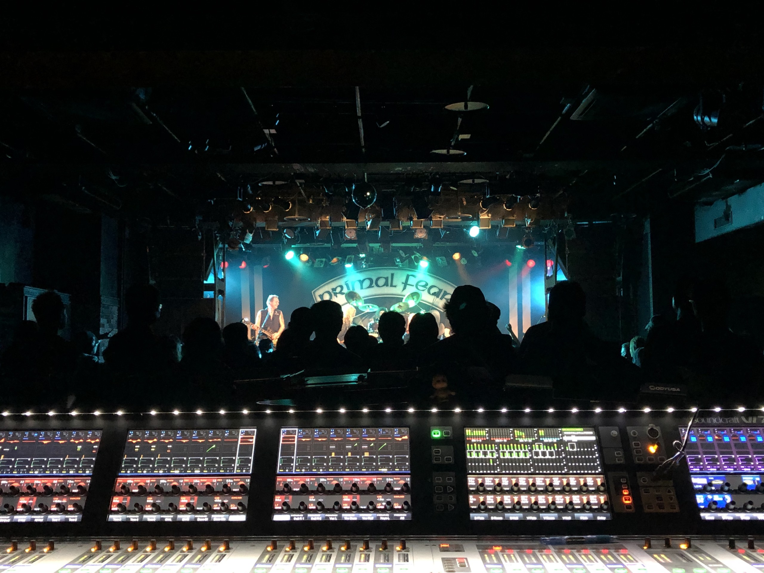 audio engineering recent work touring apocalypse japan