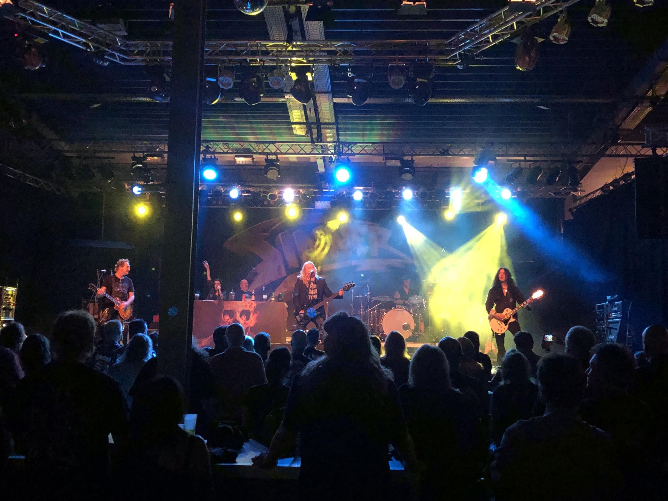 audio engineering recent work touring santa muerte release tour