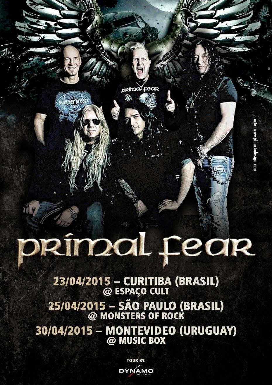 Audioengineering Touring Primal Fear America Flyer